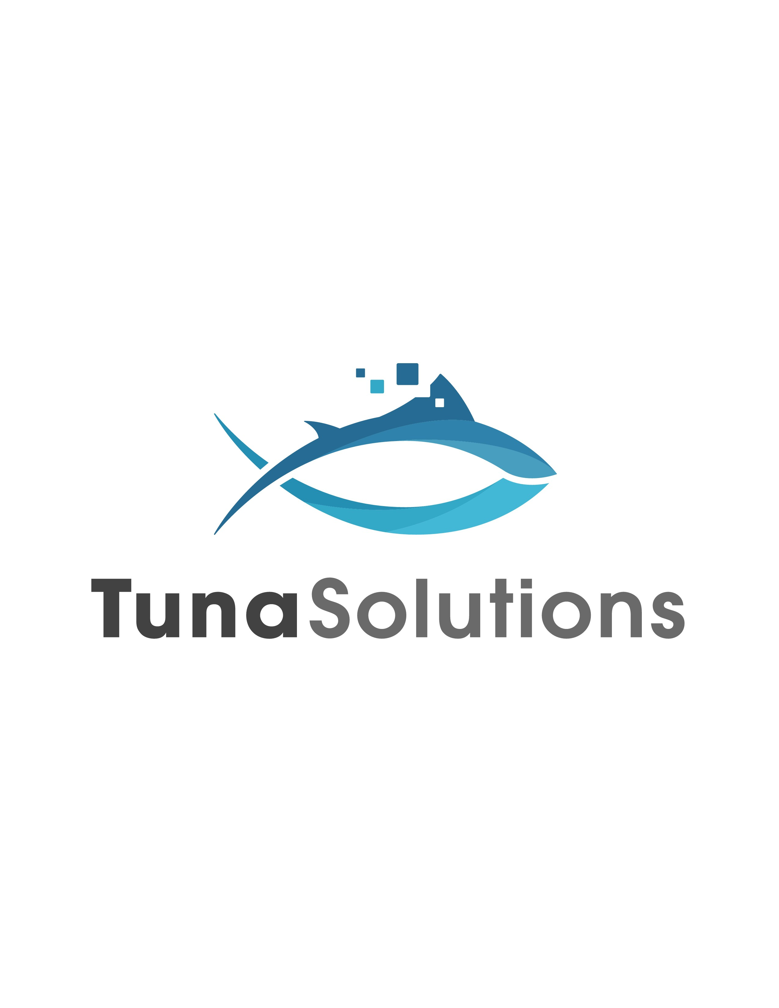 Create an iconic, trust worthy, new age logo for Tuna Solutions