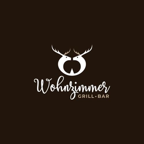 Deer + W logo concept