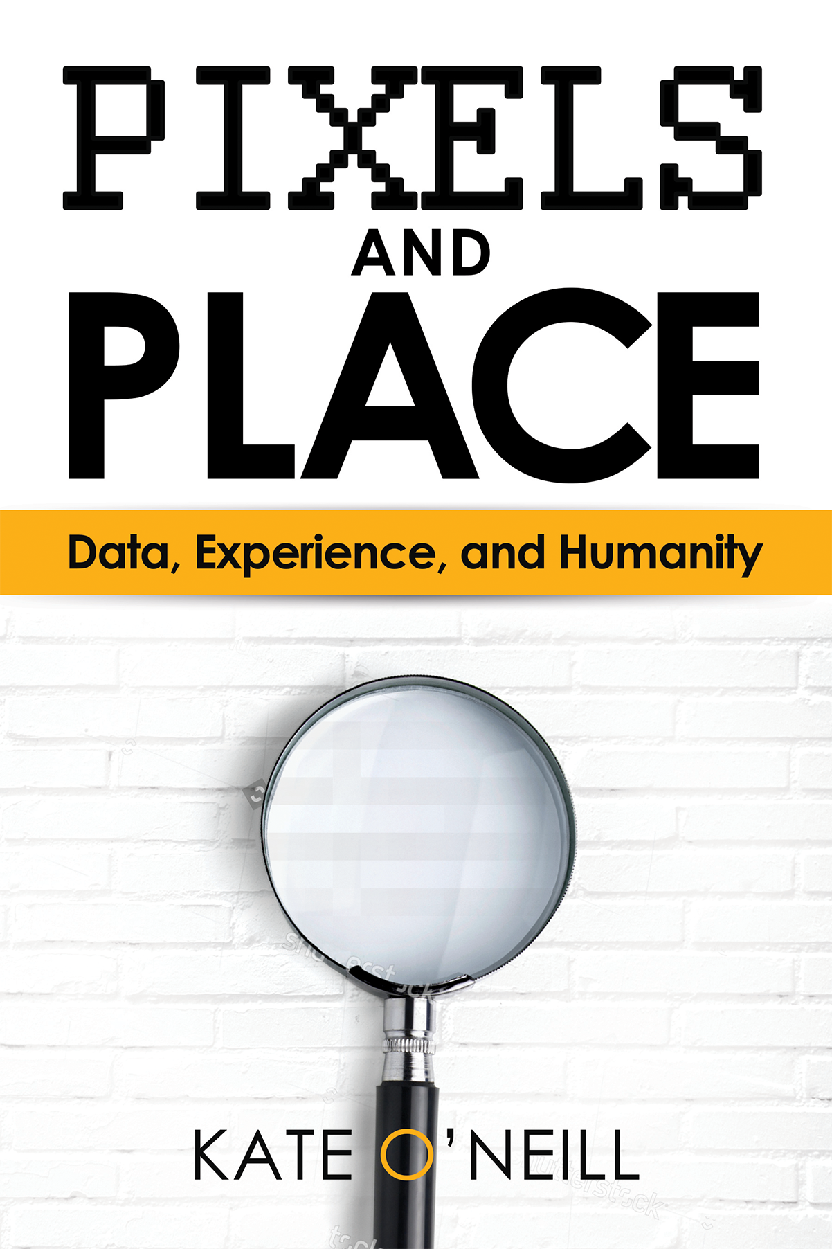 Data and tech-themed book cover