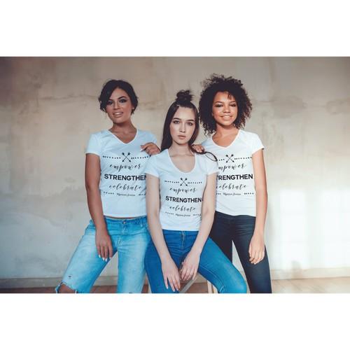 Empowering Female Tshirt Design
