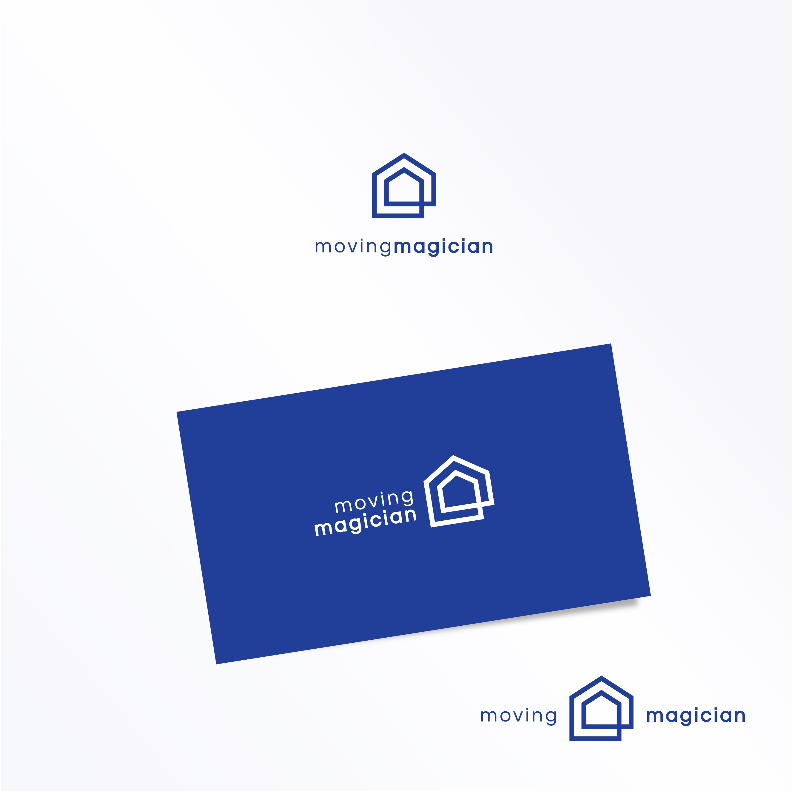 MOVINGMAGICIAN TAKES AWAY YOUR MOVING AND DOWNSIZING STRESS-NEEDS A LOGO
