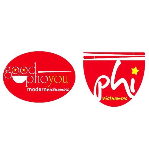 good pho you. logo needed: modern Vietnamese restaurant