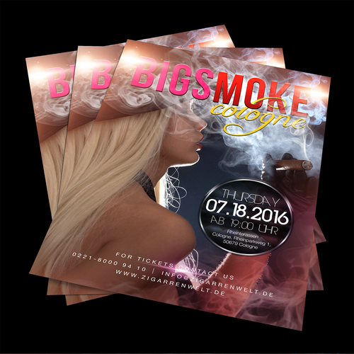 BigSmoke Cologne flyer