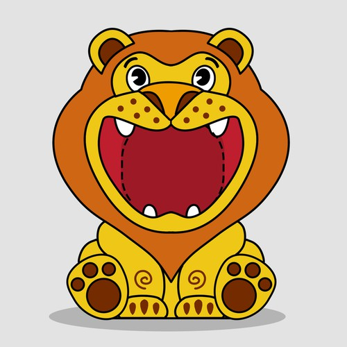 Lion Bubblemaker design for children