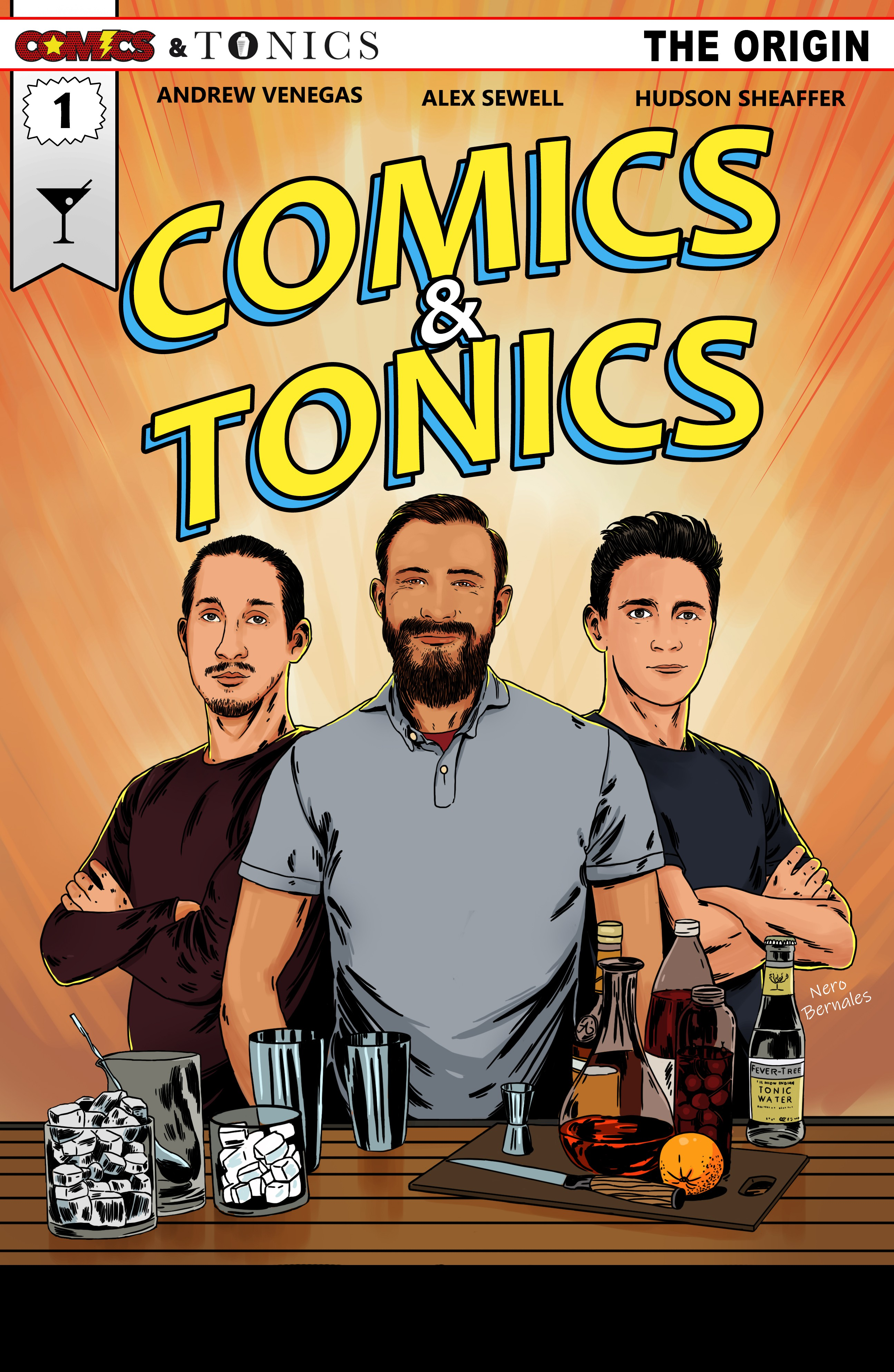 Comics and Tonics Cover