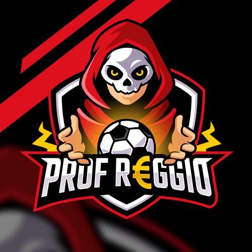 Prof Reggio Soccer Football logo esport
