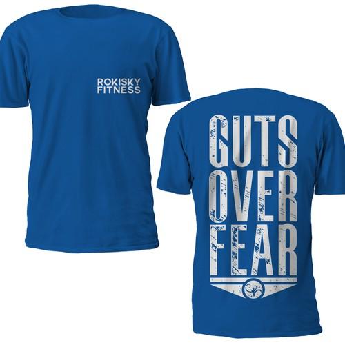 T-Shirt Design for ROKISKYFITNESS