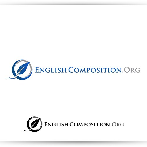 Create a simple but attractive logo for English Composition.Org
