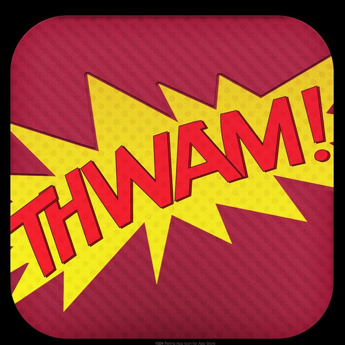 Icon design for Thwam