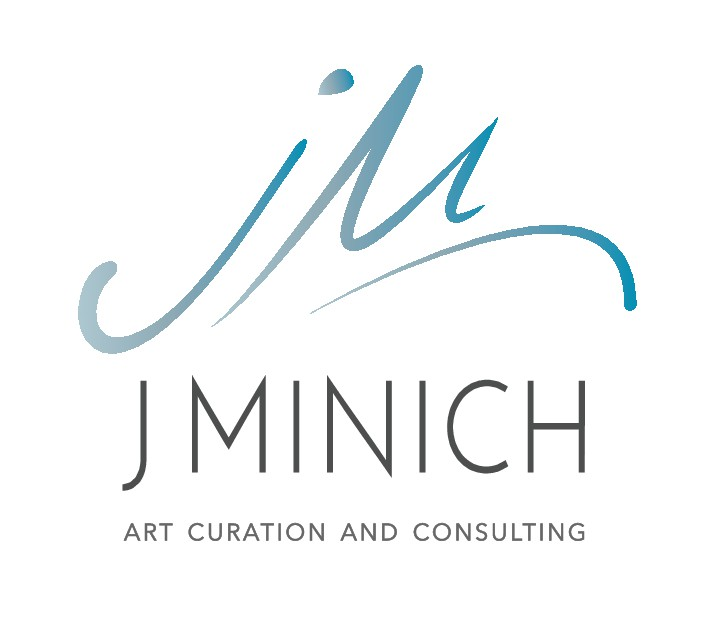 Create a captivating logo for an art professional.