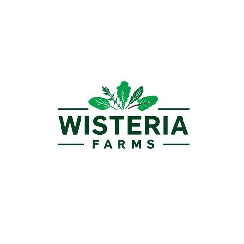 Logo concept for green farm