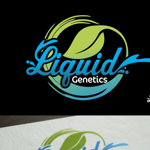 Logo for LIQUID GENETICS
