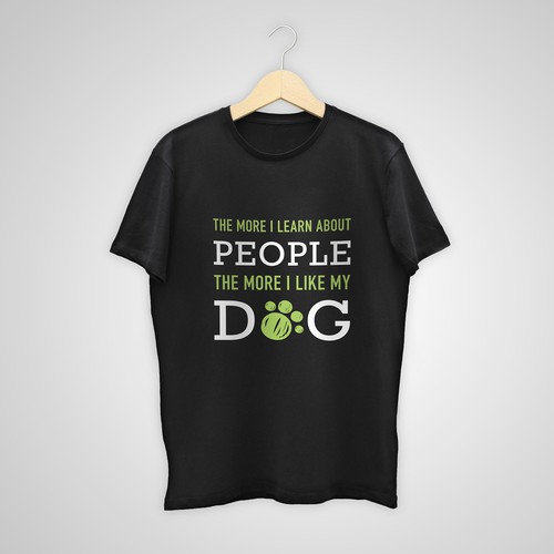 T-shirt for dog lovers