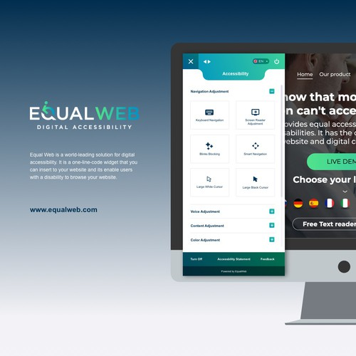 Equal Web Widget
