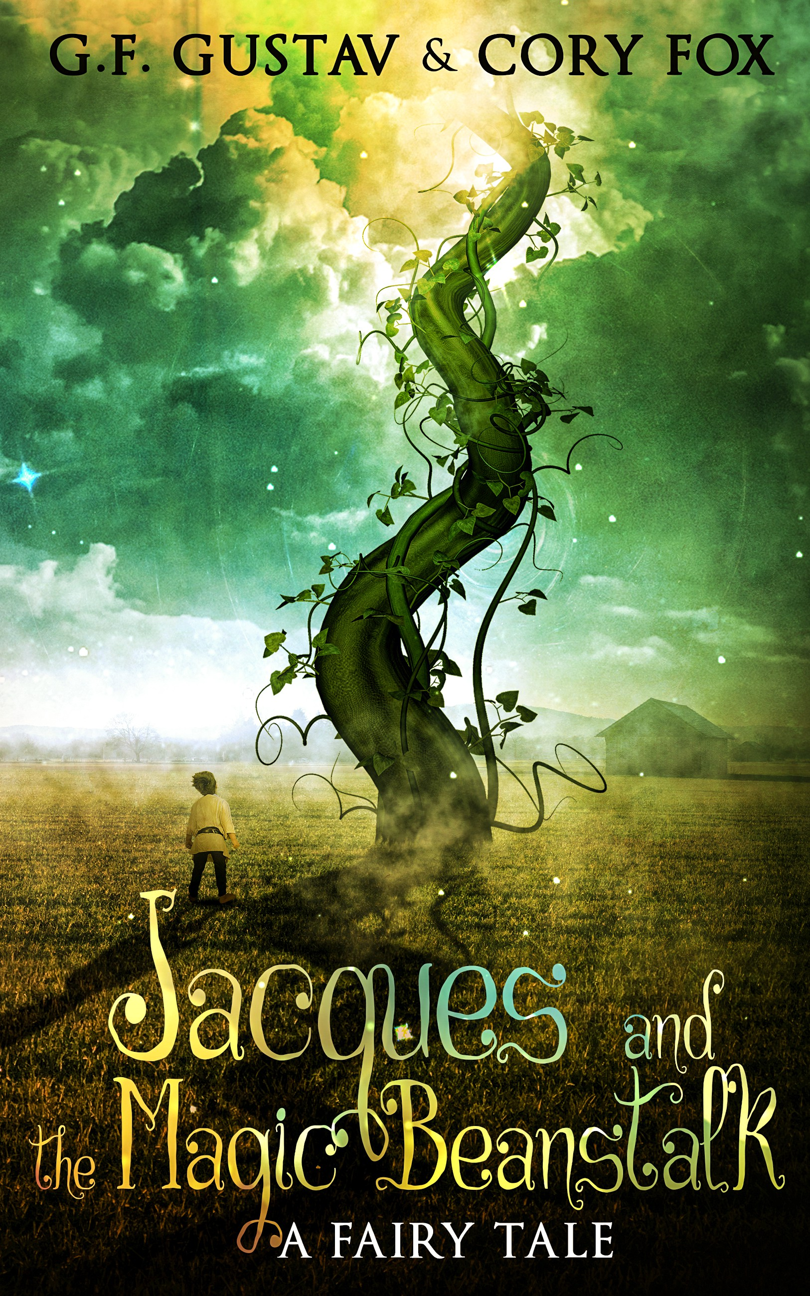 """Book cover contest for """"Jacques and the Magic Beanstalk"""""""