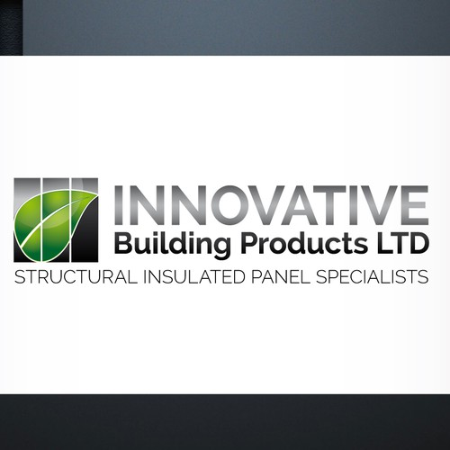 Create a Eco Friendly Innovative design for a green building products & design company.