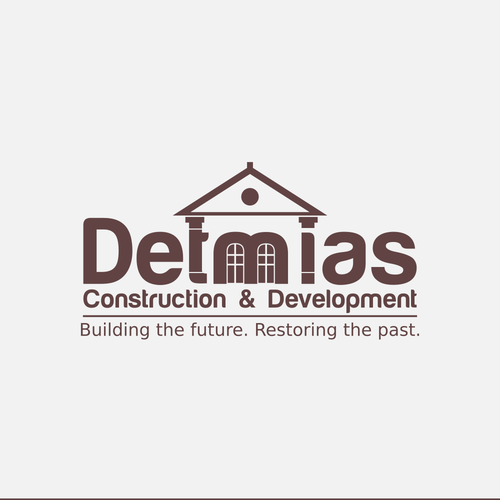 Building Historicla houses logo
