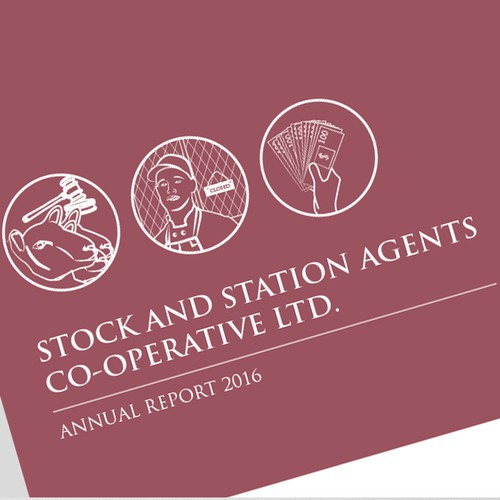 Annual Report Concept for Stock Insure