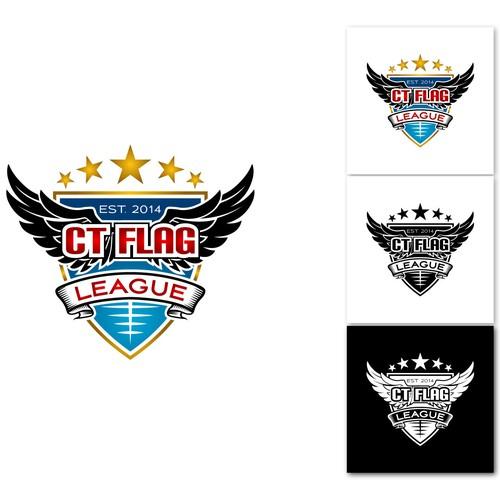 The CT FLAG LEAGUE Logo Contest