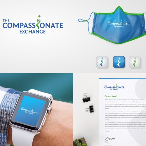 Logo design for the compassionate Exchange