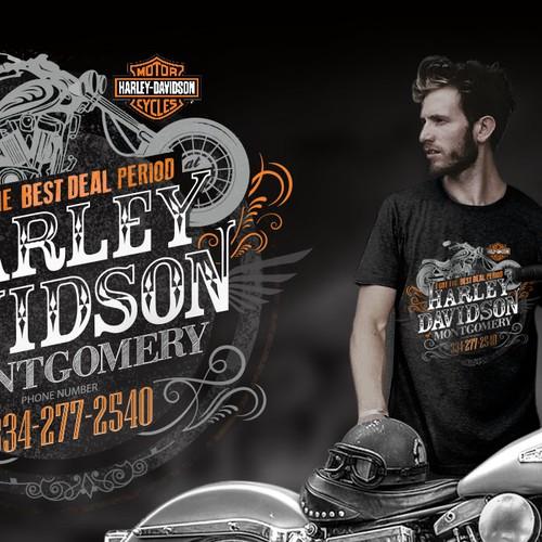 Harley-Davidson tee design