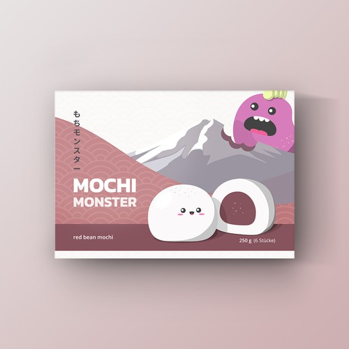 Packaging designs for Mochi