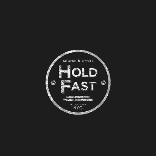 Logo for Holdfast kitchen and spirits