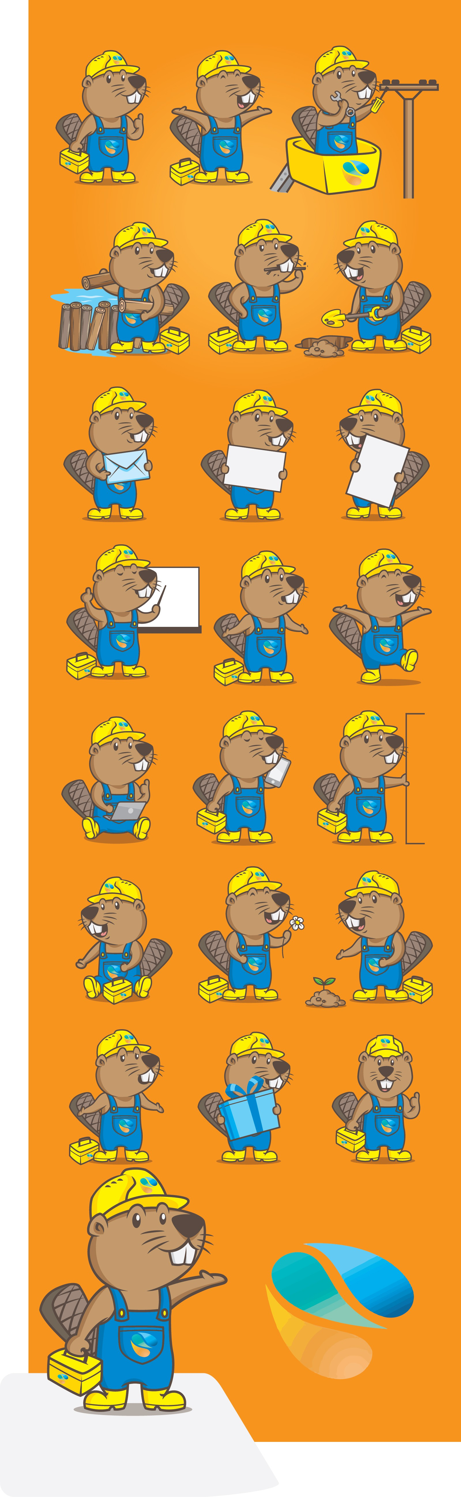 Make our mascot great & create a loveable beaver for municipal utilities