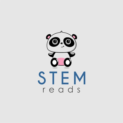 logo concept for stem reads