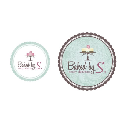 Baked by S. needs a new logo