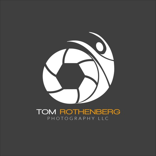 Logo for sports/action photographer