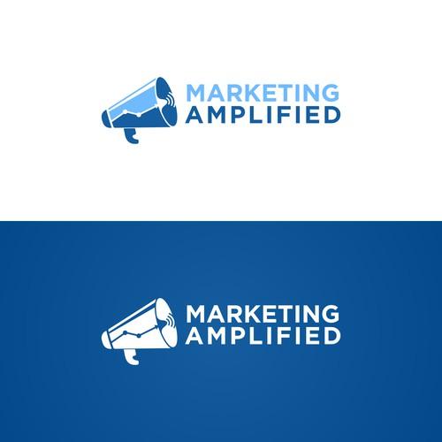 unique marketing logo