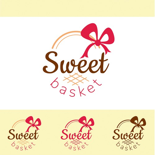 Logo for sweet and chocolate shop