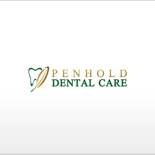 logo and business card for Penhold Dental Care