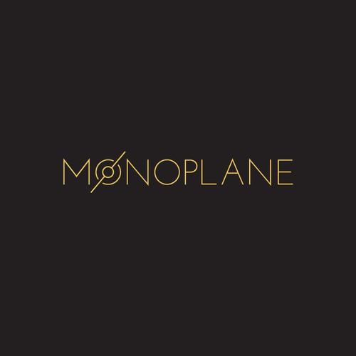 Monoplane Logo Design