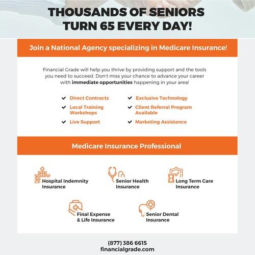 Medicare insurance brochure