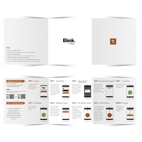 Tri-fold Brochure for Apps