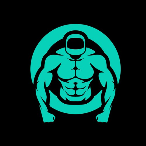 Simple and Iconic Fitness Logo