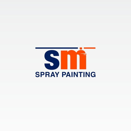 Help S M Spray Painting with a new logo