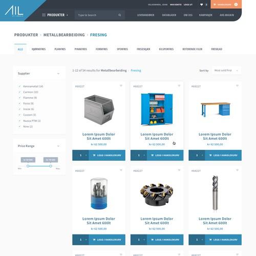 Tool supplier e-commerce