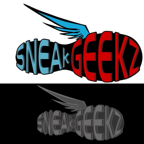 Logo for Sneaker website