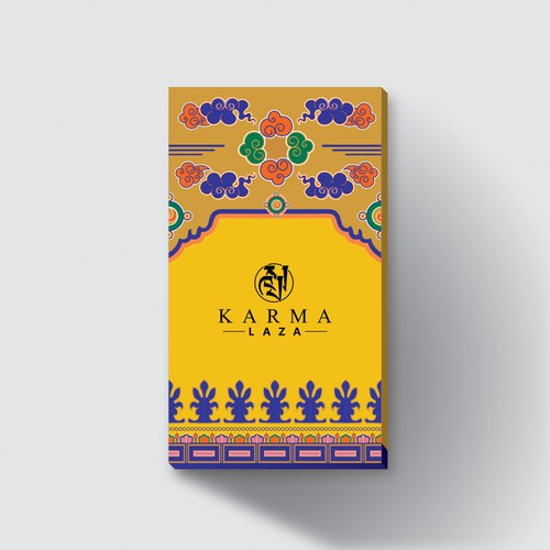 illustration and package design for home scent diffuser package