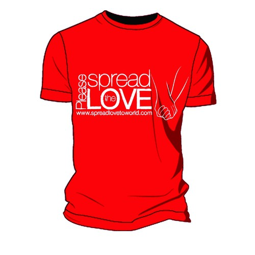 Spread the LOVE tshirt global positive message