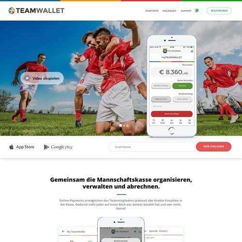 TeamWallet Redesign