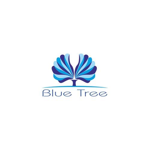 Bluee tree