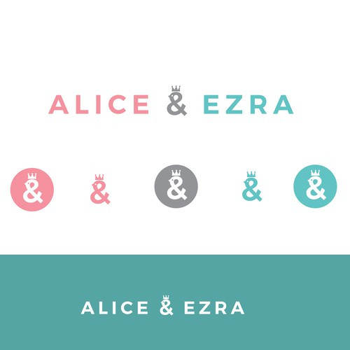 Elegant and organic logo for the company that creating baby clothes and products for infants.