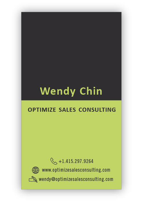 Help Optimize Sales Consulting with a new stationery