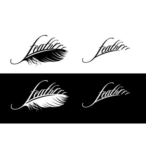 Create logo for Feathrrr - An International Dj and Music Producer