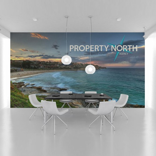 Logo concept mock up for Sydney property agent.