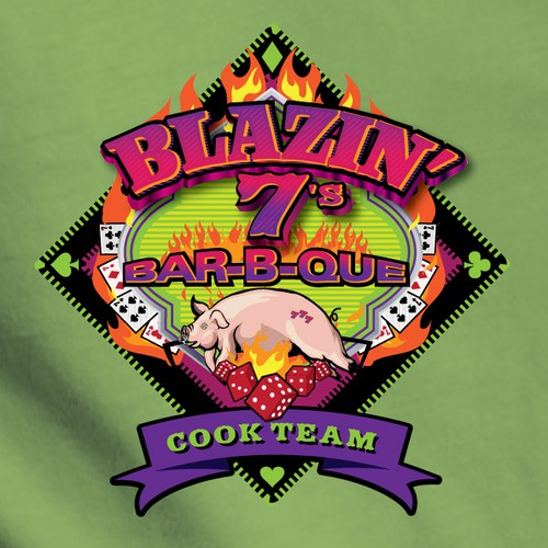 Let's see who can cook up an exciting logo for this BBQ team.